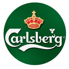 Carlsberg-bionda